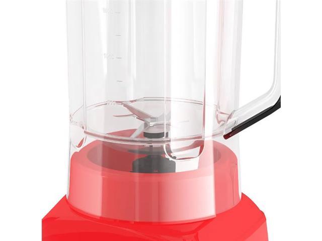 Liquidificador Mallory Taurus Vermelho 900W - 3