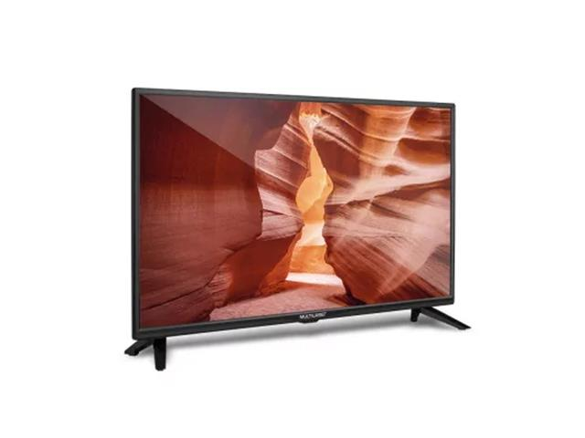 "Tela 32"" HD Multilaser Entradas HDMI USB Conversor TV Digital TL017 - 1"