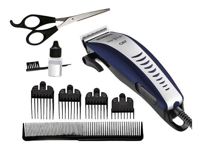 Cortador de Cabelos Mondial Hair Stylo CR7 220V