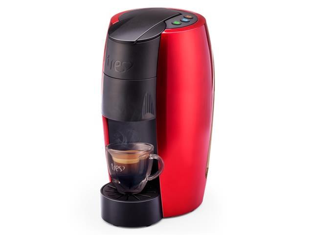 Cafeteira Espresso Automática Três Corações Lov VermelhoBrilhante