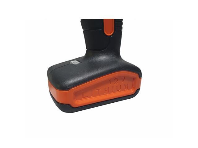 Parafusadeira e Furadeira Black&Decker 3/8 12V Bivolt com13 Acessórios - 4