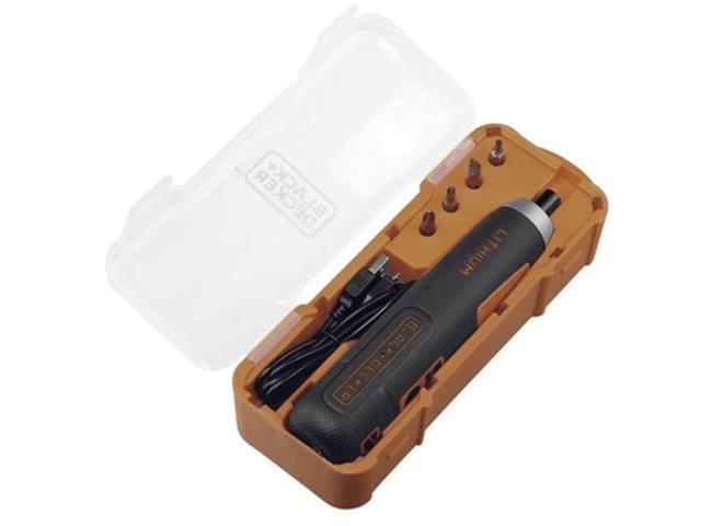 Parafusadeira Black&Decker Push & Go 1/4 Bivolt 4V com 4 Acessórios - 2