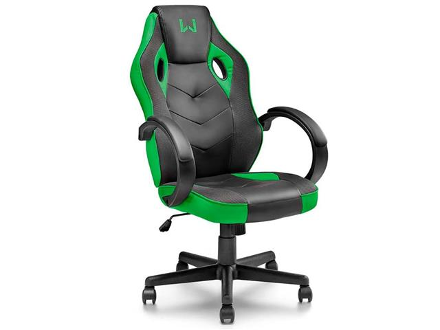 Cadeira Gamer Multilaser Warrior GA160 Tongea Verde