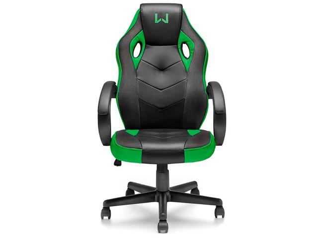 Cadeira Gamer Multilaser Warrior GA160 Tongea Verde - 1