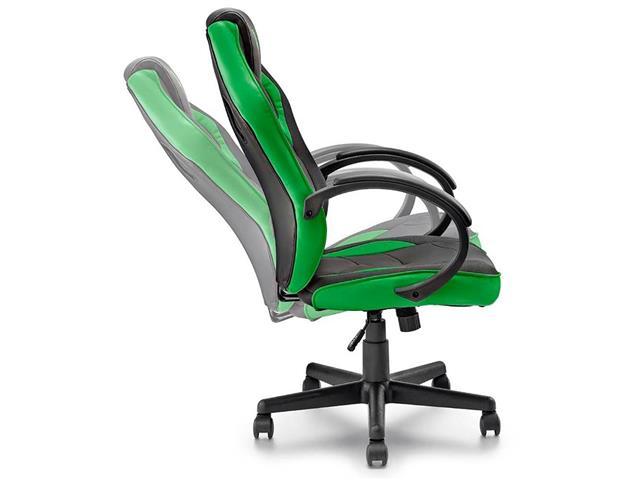 Cadeira Gamer Multilaser Warrior GA160 Tongea Verde - 5
