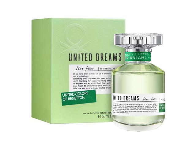 Perfume Benetton United Dreams Live Free Feminino Eau de Toilette 50ML - 3