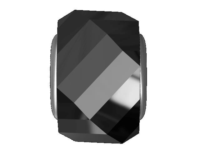 Becharmed de Cristal Preto decorado com cristais da Swarovski®
