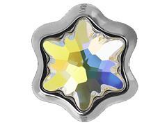 Becharmed Flor Aurora Boreal decorado com cristais da Swarovski®
