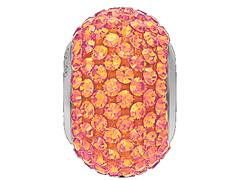 Becharmed Pavé Rosa decorado com cristais da Swarovski® redondos