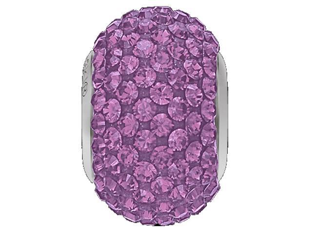 Becharmed Pavé Roxo decorado com cristais da Swarovski® redondos