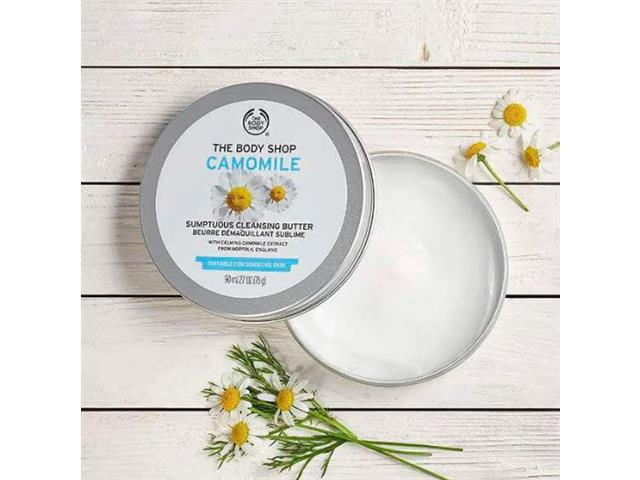 Creme de Limpeza Facial e Demaquilante The Body Shop Camomila 90ML - 2