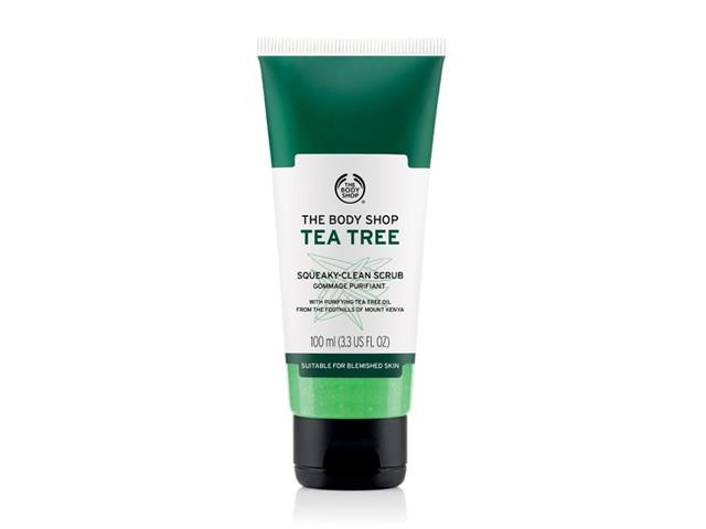 Esfoliante Facial The Body Shop Tea Tree 100ML
