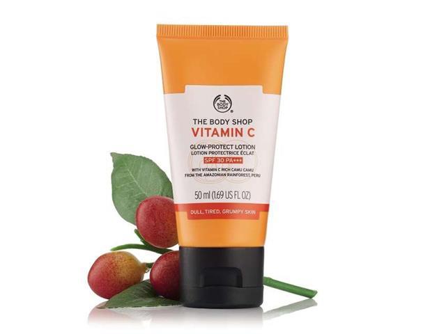 Loção Hidratante Facial The Body Shop FPS 30 Vitamina C 50ML