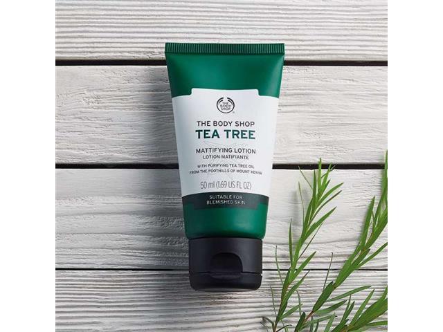Loção Hidratante Facial The Body Shop Tea Tree 50ML - 2