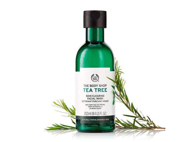 Gel de Limpeza Facial The Body Shop Tea Tree 250ML