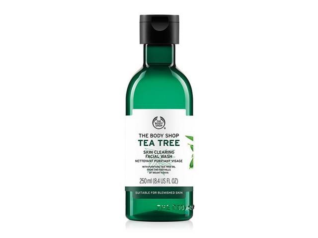 Gel de Limpeza Facial The Body Shop Tea Tree 250ML - 1