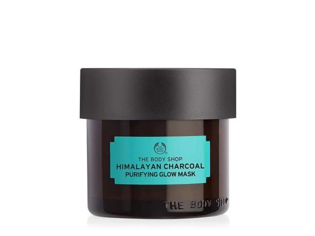 Máscara Purificante Iluminadora The Body Shop Carvão do Himalaia 75ML - 1
