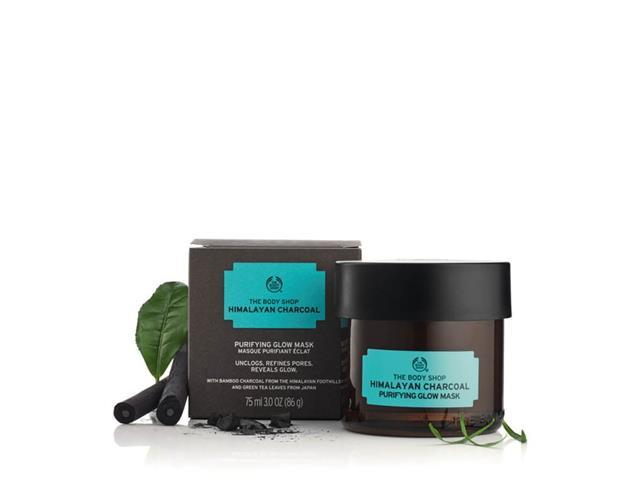 Máscara Purificante Iluminadora The Body Shop Carvão do Himalaia 75ML - 4