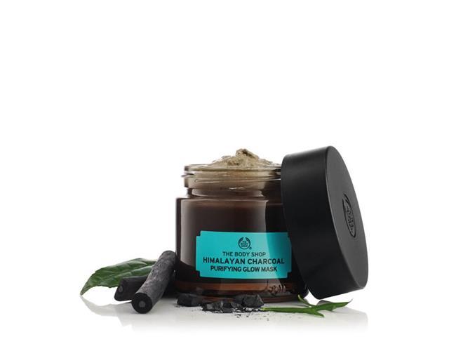 Máscara Purificante Iluminadora The Body Shop Carvão do Himalaia 75ML