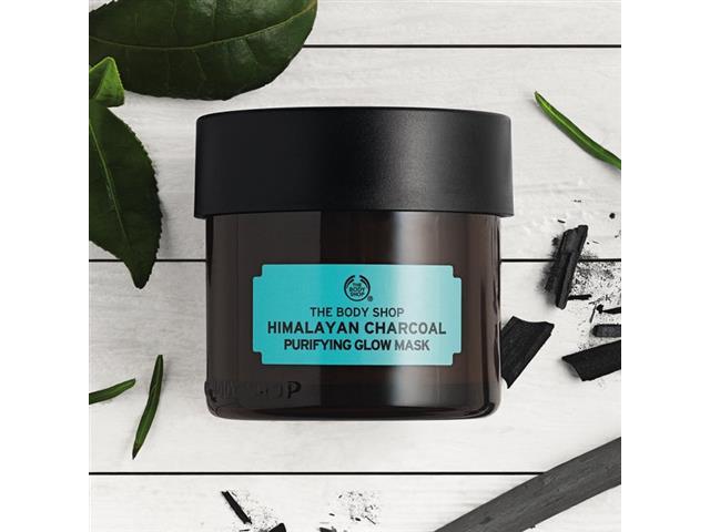 Máscara Purificante Iluminadora The Body Shop Carvão do Himalaia 75ML - 2