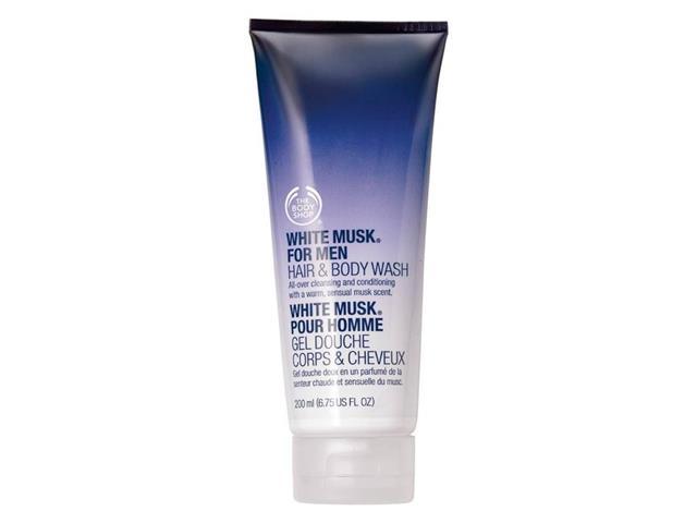 Shower Gel para Corpo e Cabelo The Body Shop White Musk For Men 200ML