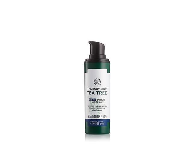 Loção Hidratante Noturna The Body Shop Tea Tree 30ML - 2