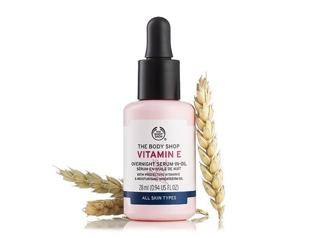 Serum em Óleo Noturno The Body Shop Vitamina E 28ML