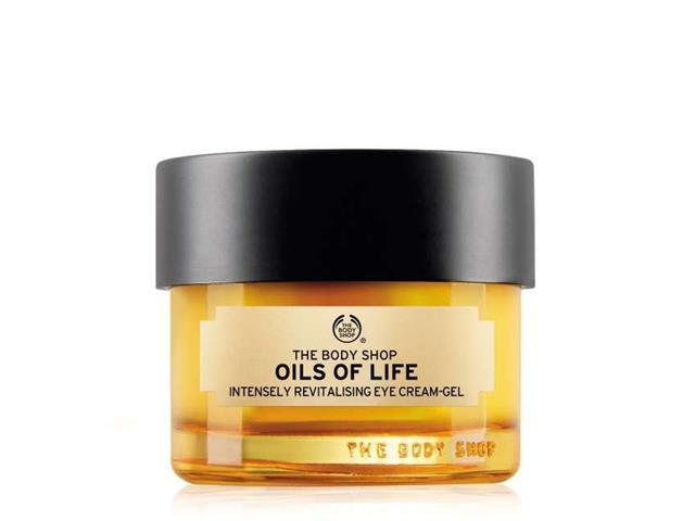 Gel Revitalizante Intensivo para Olhos The Body Shop Oils Of Life 20ML