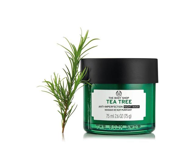 Máscara Tratamento Noturna Antimperfeição The Body Shop Tea Tree 75ML