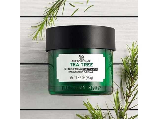 Máscara Tratamento Noturna Antimperfeição The Body Shop Tea Tree 75ML - 2