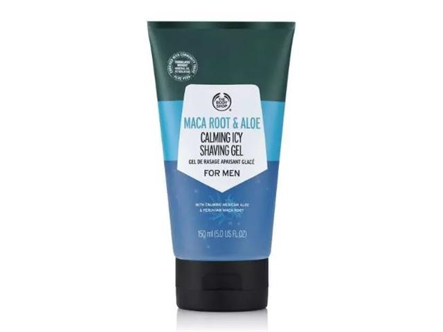 Gel de Barbear Refrescante The Body Shop Maca Root & Aloe 150ML