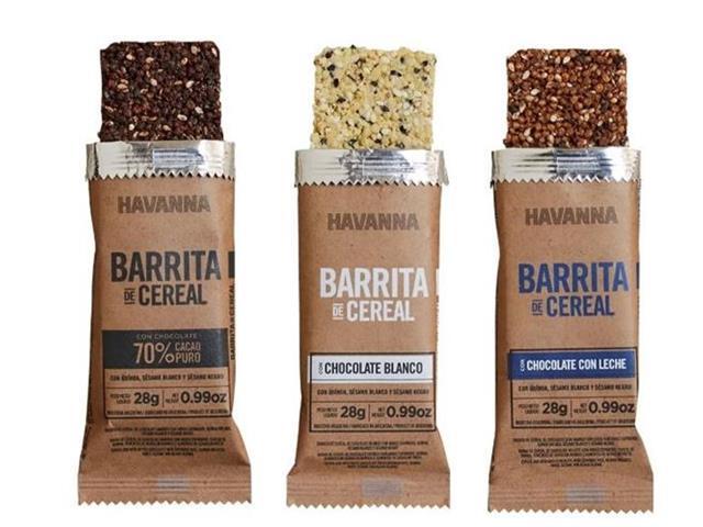 Combo Havanna Barritas de Cereal Mistas 6 Unidades