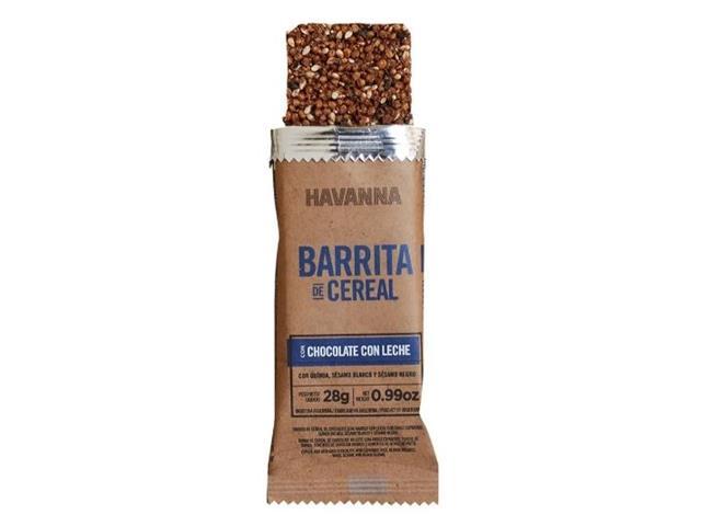 Combo Havanna Barrita de Cereal Chocolate ao Leite e Amargo 6 Unidades - 1