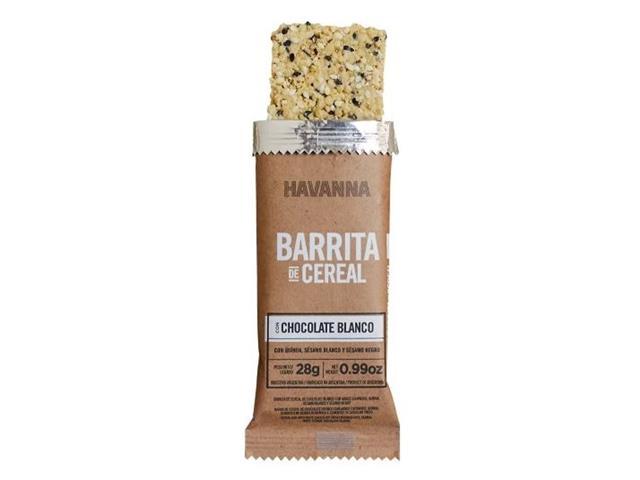 Combo Havanna Barritas de Cereal Chocolate Branco 6 Unidades