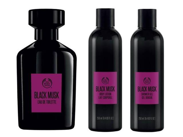Kit The Body Shop Black Musk Masculino
