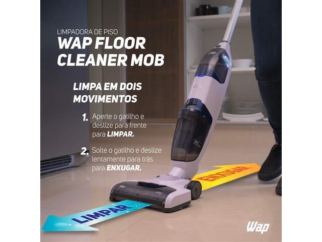 Extratora e Limpadora de Piso Vertical WAP Floor Cleaner Mob Bivolt - 9