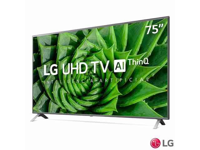 """Smart TV LED 75"""" LG UHD 4K ThinQ AI TV HDR Ativo webOS 5.0 3HDMI 2USB - 2"""