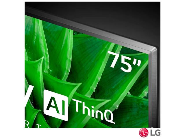 """Smart TV LED 75"""" LG UHD 4K ThinQ AI TV HDR Ativo webOS 5.0 3HDMI 2USB - 5"""