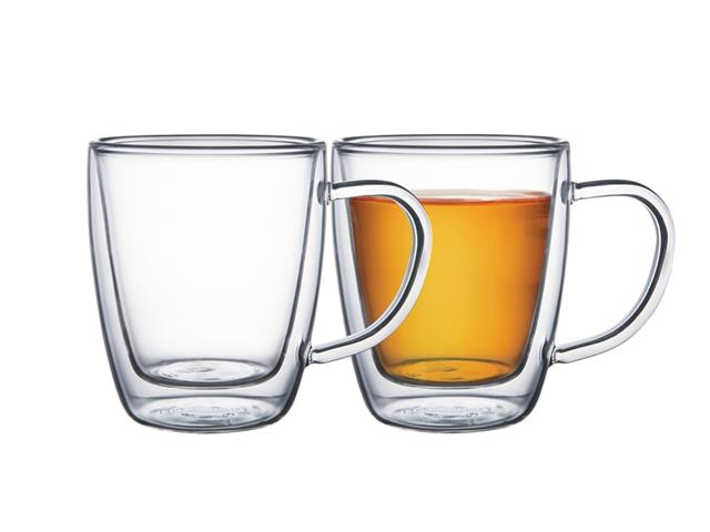 Conjunto de Xícaras para Chá em Vidro Tramontina 2 Peças