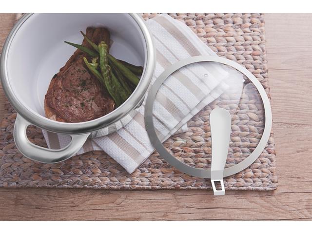 Conjunto de Panelas Tramontina Rotonda Ceramic Inox 4 Peças - 2