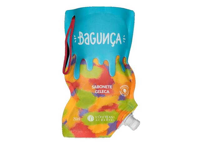 Sabonete Geleca de Banho  Loccitane au Brésil Bagunça 250ML