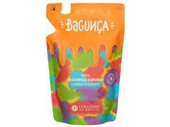 Refil Shampoo Espuma Cabelo e Corpo L'Occitane au Brésil Bagunça 230ML