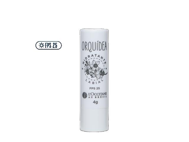 Hidratante Labial FPS 25 L'Occitane au Brésil Orquídea 4G