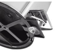 Lixeira com Pedal Tramontina Aço Inox 3 Litros - 2