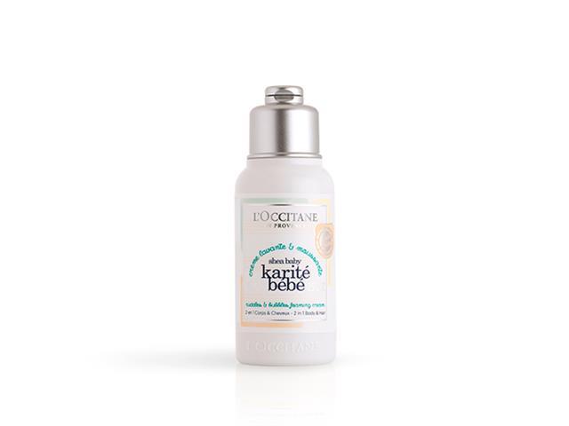 Shampoo Cabelo e Corpo Loccitane en Provence Karité Bebê 75ML