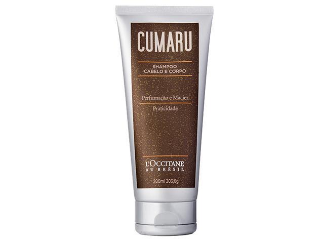 Shampoo Cabelo e Corpo Loccitane au Brésil Cumaru 200ML