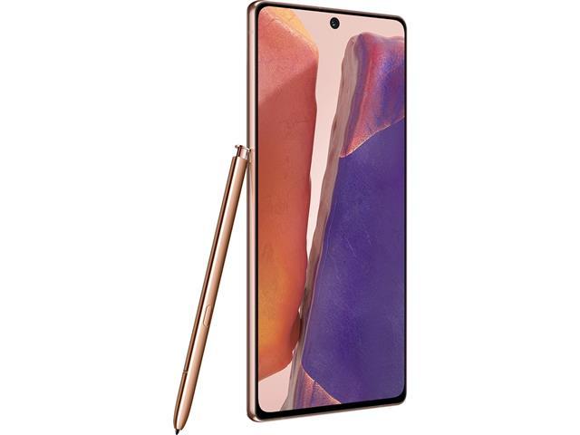 "Smartphone Samsung Galaxy Note20 5G 256GB 6.7"" 8GB 64+12+12MP Bronze - 3"