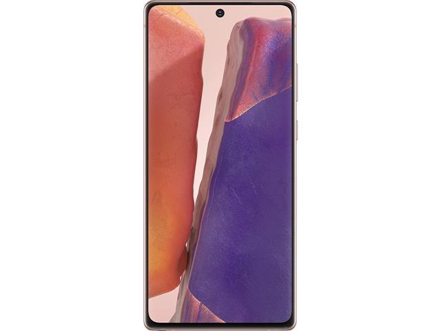 "Smartphone Samsung Galaxy Note20 5G 256GB 6.7"" 8GB 64+12+12MP Bronze - 1"