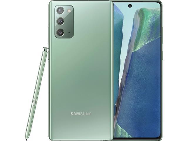 "Smartphone Samsung Galaxy Note20 5G 256GB 6.7"" 8GB 64+12+12MP Verde"