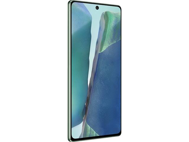"Smartphone Samsung Galaxy Note20 5G 256GB 6.7"" 8GB 64+12+12MP Verde - 4"